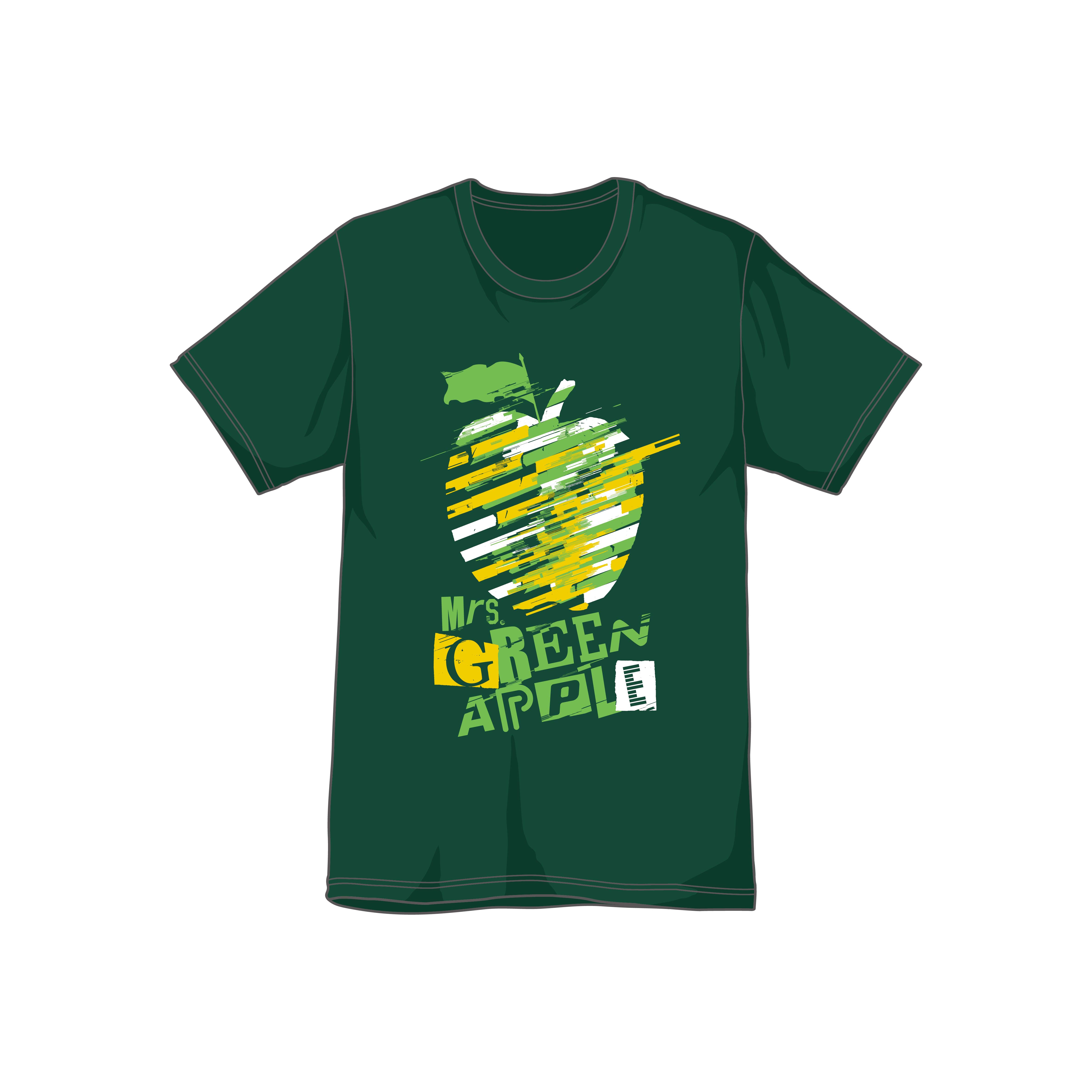 Slip Apple T-shirt/Green