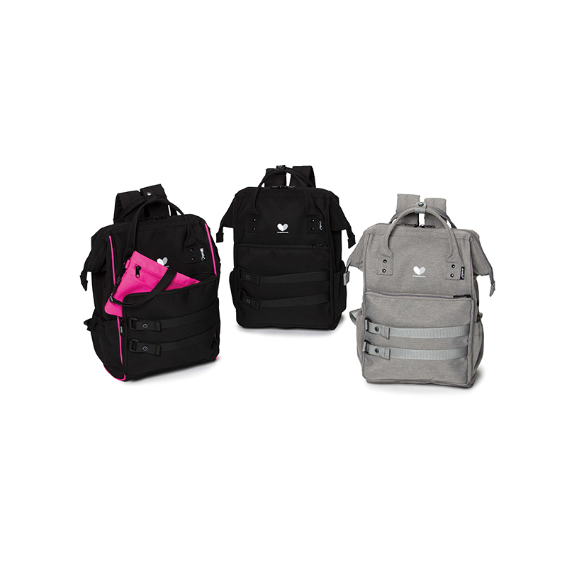 MUSIC FEST. W-BACK PACK / Neon Pink