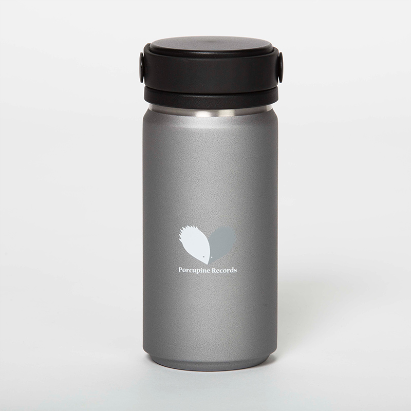 THERMO HANDLE BOTTLE  / Silver Gray