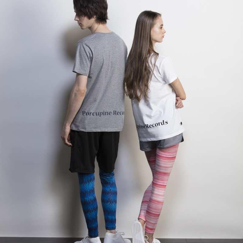MUSIC FEST. ART LEGGINGS / MEN'S /  Fether Rain Blue
