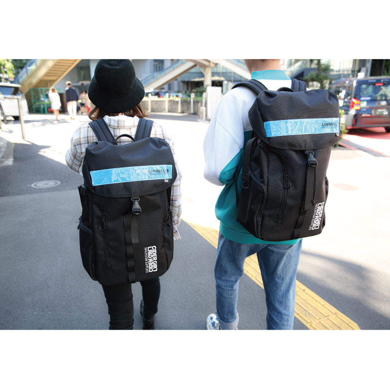 サイダーガール×MICHAEL LINNEL BIG BACKPACK